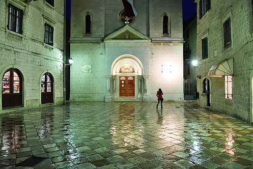 St. Nicholas Church in Kotor; Montenegro