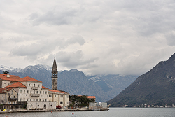 St Nicholas church in Perast; Montenegro